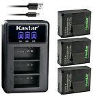 Kastar Battery Triple Charger for GoPro AHDBT-302 HD HERO3 Hero 3 Hero 3+ Hero3+