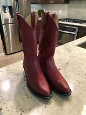 Womens Durango Cowgirl Leather Ladies Fashion Western Red Cowboy Boots Size 6M