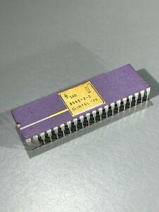 Siemens SAB8086-2-C Microprocessor - 8086, Vintage Computer Chip, Purple, NOS