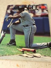 Beckett Baseball Magazine Monthly Price Guide January 1994 Frank Thomas