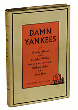 DAMN YANKEES by George Abbott and Douglass Wallop ~ First Edition 1956 1st Print