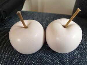 Deko äpfel keramik