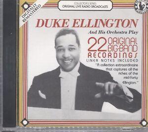 Duke Ellington - 22 original big-band recordings CD 063