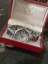 Cartier Ballon Bleu Men's Quartz Watch, Running, 41mm, As-Is