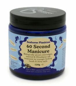 Beauty Kitchen Hand Scrub Anti Ageing SEAHORSE PLANKTON 60 Second Manicure 120g