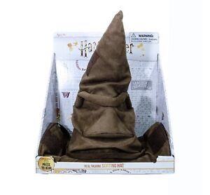 HARRY POTTER REAL TALKING SORTING HAT Animated WIZARD HAT COSTUME COSPLAY