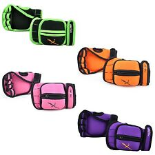 MaxxMma Adjustable Weighted Gloves - Removable Weight 1 lb.each x 2 - 4 colors