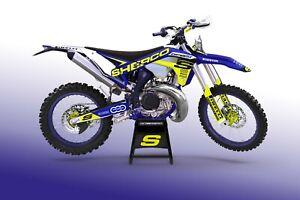 CustomMX Graphics Kit:- SHERCO SE 250 300 450 to fit 09-11 12-16 17-21 Models
