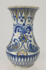 Antique VIntage Hungarian Majolica Maiolica Type Bozsik Pottery Jug Vase Faience
