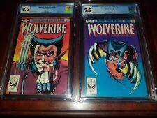 Miller Wolverine 1 - 4 CGC 9.2 All with white pages