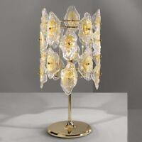 Luce Da Vivere SOFIA Lamp - Murano Art Glass - Italian Design-Clear w/Gold