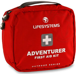 Lifesystems Adventurer First Aid Kit Ripstop Waterproof Fabric Bag Case