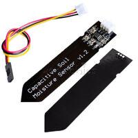 1/2/5/10PCS Analog Cable Capacitive Soil Moisture Sensor V1.2 Corrosion Resist