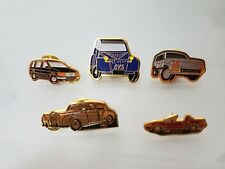 LOTE 5 PINS COCHES CLASICOS