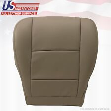 2000 To 2004 TOYOTA TUNDRA SEQUOIA Driver Bottom Leather Seat Cover Tan