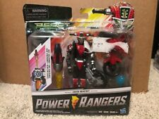 Power Rangers Beast Morphers Cruise Beastbot 6-inch Figure Motorcycle Red New