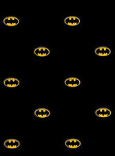 Batman Logo on Black Sure Strip Wallpaper BZ9234