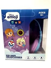 Disney Emoji Frozen Kid Safe Volume Limiting Headphones Over the Ear w
