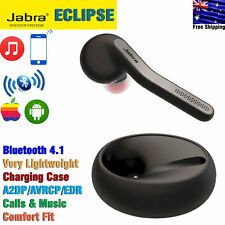 Genuine Jabra Eclipse Wireless Bluetooth Single-Ear Headset with Charging Case