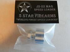 Aluminum Speedloader, Speed Loader;  Ruger LCR 22 Mag, Charter PFind;  J2-22 Mag