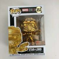 Funko Pop Marvel Studios The First Ten Years Star-Lord Gold Chrome Metallic #353