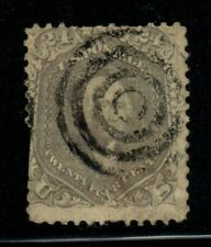 US Stamps Collection Scott #78 Used $375 - Target Cancel!
