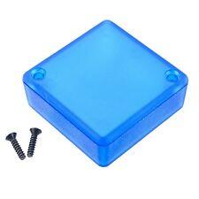 1551RTBU Blue Genuine Hammond Translucent ABS Enclosure Box (50 x 50 x 20mm)