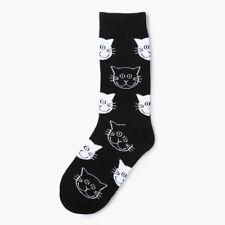 Colorful Cat Face Women Men Cotton Socks Casual Sports Socks Pattern Happy Socks