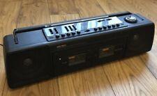 Bush Vintage Retro Portable Stereo Cassette Recorder Radio SRC-261 MW/FM Tested