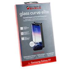 ZAGG Elite Glass Curve Impact Scratch Resist Samsung Galaxy S9 Screen Protector