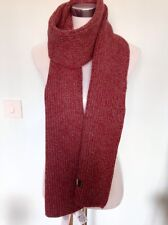 Timberland 70% Lambswood Scarf Red