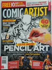 Imagine FX Presents Comic Artist UK Issue 5 Colour Pencil Art FREE SHIPPING sb