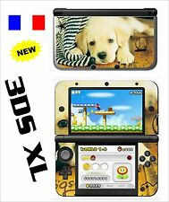 SKIN STICKER AUTOCOLLANT DECO POUR NINTENDO 3DS XL - 3DSXL REF 63 DOG