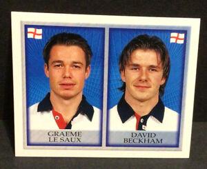 Merlin Official England 98 World Cup Rookie David Beckham Sticker #288