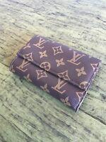 Louis Vuitton Women's Monogram Tan Trifold Wallet