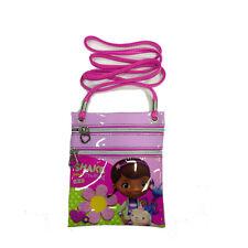 DOCTORA PELUCHES bandolera pequeña ajustable rosa rectangular 2 cremallera 17,