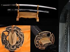 High Quality Japan Samurai Sword Katana Folded Pattern Steel Sharp Battle Ready1