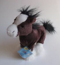 WB4 Clydesdale Horse WEBKINZ PLUSH new code ganz stuffed animal