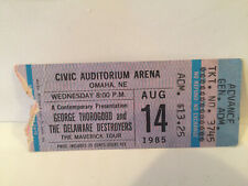 George Thorogood & The Destroyers Concert Ticket Stub 8-14-1985 Omaha