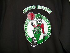 VINTAGE 80s BOSTON CELTICS NBA WORLD CHAMPIONS SWEATSHIRT EXTRA LARGE NEW SHIRT