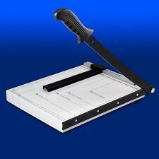 Schneidemaschine Hebelschneider Schneidegerät Foto Papier DIN A4 Stahl Cutter A0