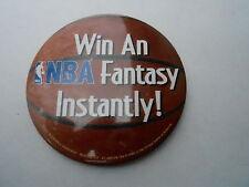 "VINTAGE 3"" PINBACK BUTTON #44- 008 - 1992 MCDONALDS NBA FANTASY"