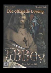 THE ABBEY - DIE OFFIZIELLE LÖSUNG KOMPLETT IN DEUTSCH **** NEU ****