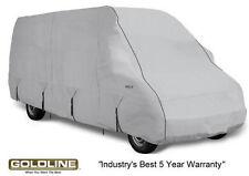 Goldline Class B RV Conversion Van Cover Fits 26 to 28 FT Grey