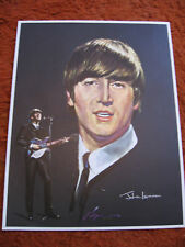 SET OF 4 BEATLES PRINTS dated 1964 > Vintage > RARE !!!