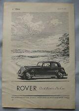1947 Rover Original advert No.1