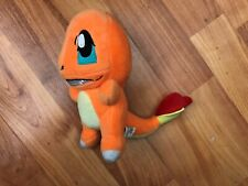 "GENUINE BANPRESTO UK POKEMON 6"" CHARMANDER SOFT PLUSH TOY NINTENDO"
