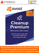 Avast Cleanup Premium for Windows 2020 - 10 PCs - 2 Years [Digital Download]