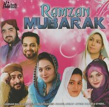 RAMZAN MUBARAK (2014) - COLLECTION OF 10 BEAUTIFUL NAATS IN A CD - FREE UK POST