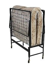 New Serta 39-inch Rollaway Bed with Poly Fiber Mattress Folding Guest Travel